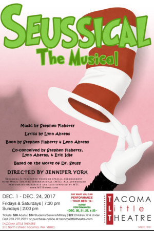 Tacoma Little Theatre presents SEUSSICAL THE MUSICAL
