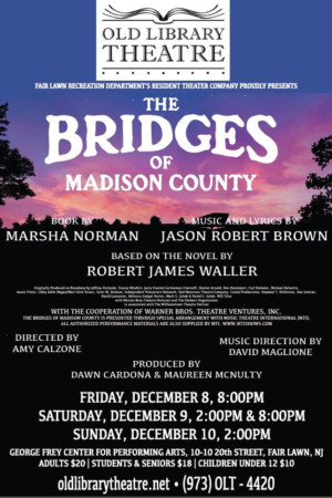 Old Library Theatre to Present THE BRIDGES OF MADISON COUNTY