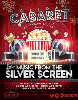 Angelique Cabral, Parvesh Cheena, Katie Lowes, Headline IAMA HOLIDAY CABARET