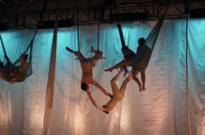 LAVA, The Feminist Acrobatic Dance Troupe, presents the World Premiere of A GODDESSY