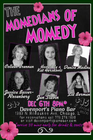 THE MOMEDIANS OF MOMEDY Come to Davenport's Today