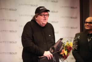 Michael Moore Among Artists Recognized At United Solo Festival Gala