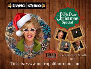 THE DORIS DEAR CHRISTMAS SPECIAL Returns This December