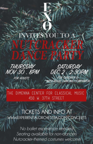 Join the First-Ever NUTCRACKER DANCE PARTY Next Week!