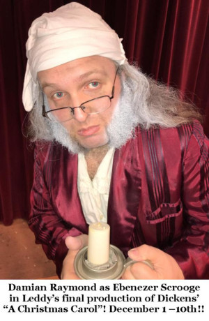 A CHRISTMAS CAROL 2017 Features An Exciting New Scrooge!