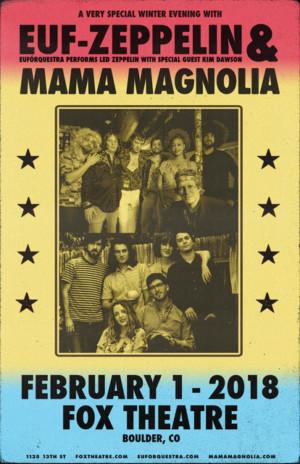 EUFORQUESTRA + MAMA MAGNOLIA Come to Fox Theatre 2/1