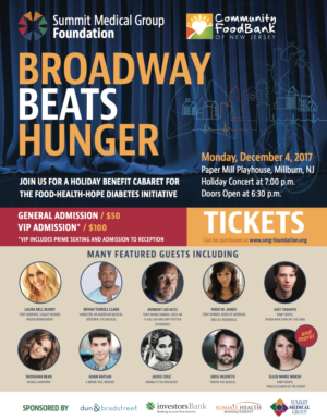 Laura Bell Bundy, Shoshana Bean, Norbert Leo Butz and More Set for BROADWAY BEATS HUNGER Benefit at Paper Mill Playhouse