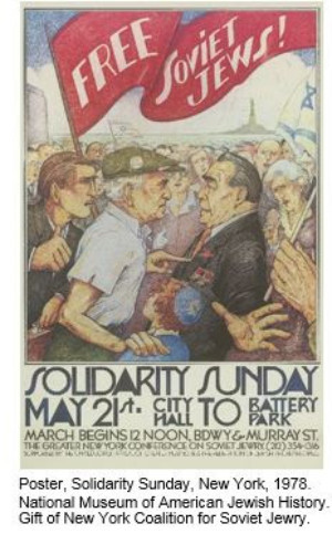 Soviet Jewry Movement Explored In Panel Exhibition, Opens 12/6