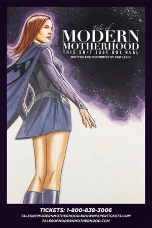 Pam Levin's TALES OF MODERN MOTHERHOOD To Headline Solofest 2018