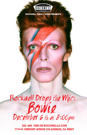 Rockwell Drops the Mic Series Continues with David Bowie