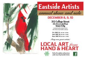 Eastside Artists Announce Annual Holiday Art Show