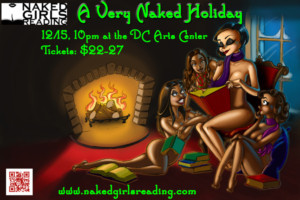 Naked Girls Reading presents A VERY NAKED HOLIDAY