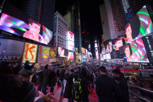 Trine Lise Nedreaas' PULSE Is December's 'Midnight Moment' in Times Square