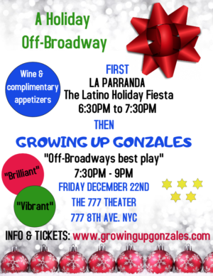 LA PARRANDA and GROWING UP GONZALES Come to the 777 Theater