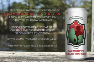 Catherine Curtin, Gordon Joseph Weiss and More to Lead DAD MIGHT'VE KILLED THAT GIRL Reading at Cherry Lane Theatre