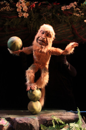 An Unforgettable Experience: Center for Puppetry Arts presents RAINFOREST ADVENTURES