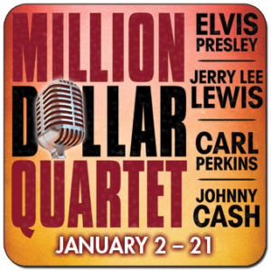 MILLION DOLLAR QUARTET to Rock the Riverside Theatre for Two More Performances