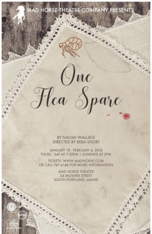 Mad Horse Theatre Company presents ONE FLEA SPACE, by Naomi Wallace
