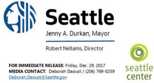 New Year's Eve Celebrations Announced At Seattle Center