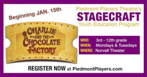 Piedmont Players Announces New Youth Theatre Program