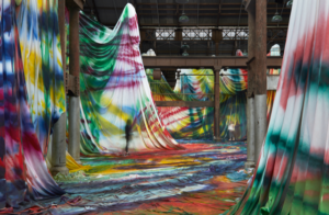 Carriageworks Unveils Monumental Installation By Acclaimed German Artist Katharina Grosse