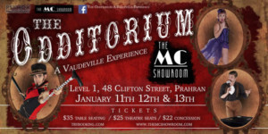 A Vaudeville is Born at THE ODDTORIUM