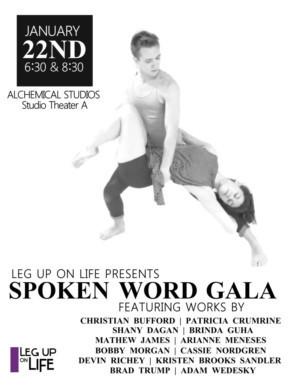 Leg Up on Life Presents The Spoken Word Gala