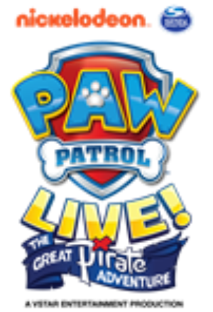 Fox Theatre Presents PAW PATROL LIVE! THE GREAT PIRATE ADVENTURE