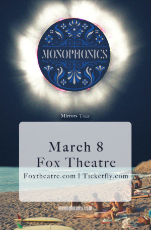 Monophonics to Play Fox Theatre