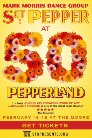Mark Morris Dance Group presents SGT. PEPPER AT 50: PEPPERLAND