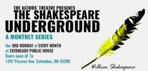 ATC Announces 2018 Season Of The Shakespeare Underground