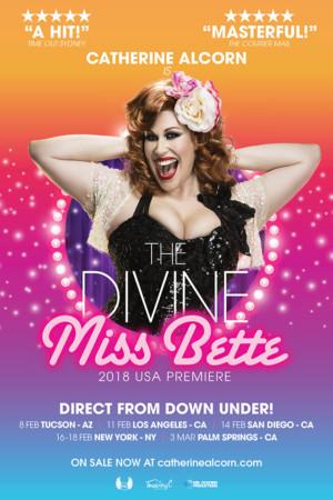 Catherine Alcorn Stars as THE DIVINE MISS BETTE