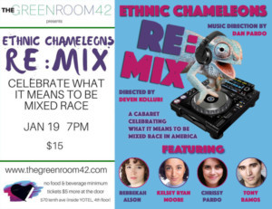 Ethnic Chameleons Bring RE:MIX to The Green Room