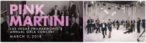 Las Vegas Philharmonic presents PINK MARTINI, 3/3