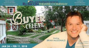 Rubicon Theatre Company Presents Brian McDonald Starring in BUYER & CELLAR