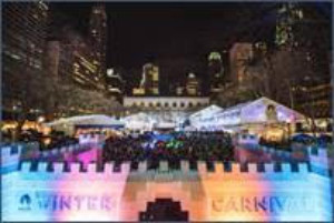 Johnny Weir and Special Olympics Team To Perform at Bryant Park's Annual Winter Carnival 1/26