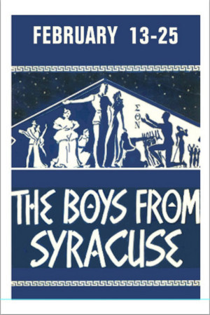 Musicals Tonight Announces Cast of THE BOYS FROM SYRACUSE