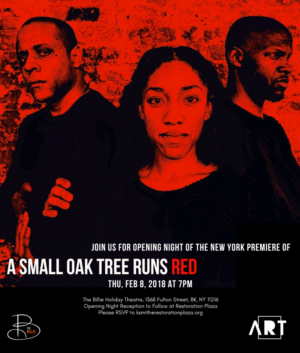 A SMALL OAK TREE RUNS RED Makes New York Premiere For 100th Anniversary of 1918 Holocaust Lynchings