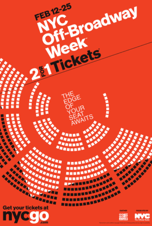 Off-Broadway Week's 2-For-1 Tickets are Onsale Today