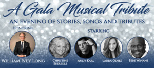 Blumenthal Performing Arts Gala to Honor William Ivey Long; Christine Ebersole, Andy Karl, Laura Osnes and More to Perform