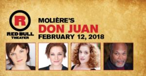 Red Bull Theater presents Molière's DON JUAN