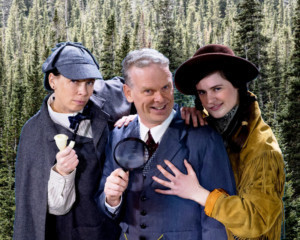 Theater Company of Lafayette Presents OSCAR DOVE: LETTERS TO SHERLOCK A World Premiere