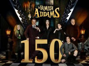 LA FAMILIA ADDAMS celebra 150 funciones en el Teatro Calderón de Madrid