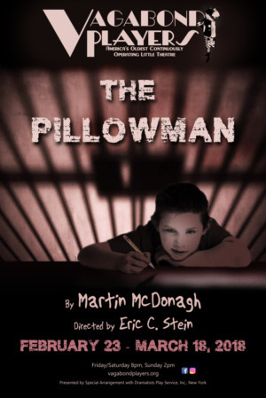 THE PILLOWMAN Opens At Vagabond Players