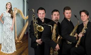 Nexas Sax Quartet With Harpist Emily Granger Present AN AMERICAN IN PARIS
