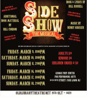 SIDE SHOW Comes To Fair Lawn