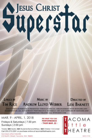 Tacoma Little Theatre Presents JESUS CHRIST SUPERSTAR
