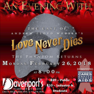 Broadway In Chicago presents A Limited Engagement of Andrew Lloyd Webber's LOVE NEVER DIES