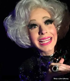 Nicky Ciampoli as Carol Channing Comes to Feinstein's/54 Below
