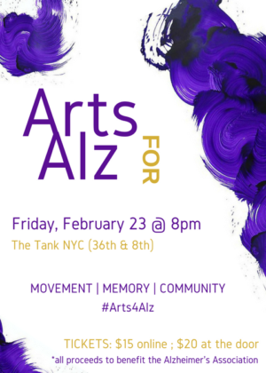 NYC Dance Performance To Benefit The Alzheimer's Association